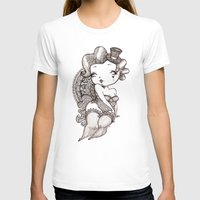 burlesque T-shirts featuring Chubby Burlesque by Sabrina Eras