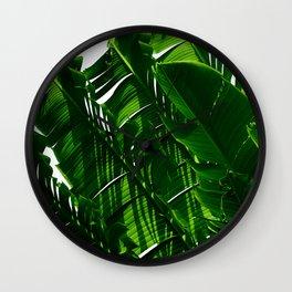 Green Me Up Wall Clock