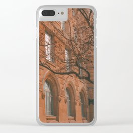 Budapest Architecture Clear iPhone Case