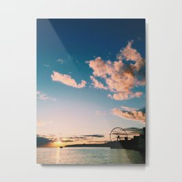 Sunset Seattle Metal Print