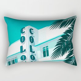 Colony Hotel Miami Beach Rectangular Pillow