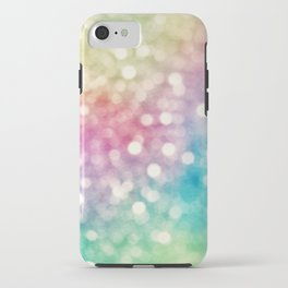 Rainbow Sparkles iPhone Case