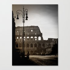 Early Morning at the Coliseum Canvas Print