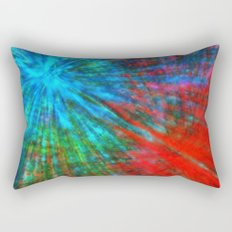 Abstract Big Bangs 001 Rectangular Pillow
