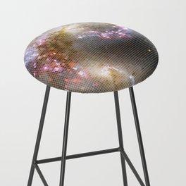 Pixel Nebula Bar Stool