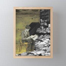 Reader Framed Mini Art Print