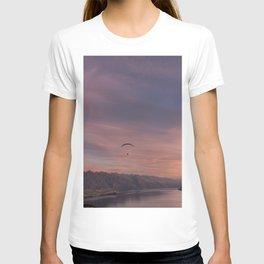 Sunset over Lake Wakatipu T-shirt