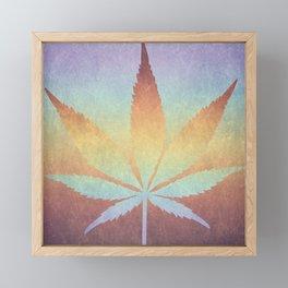 Somewhere over the rainbow, way up high Framed Mini Art Print