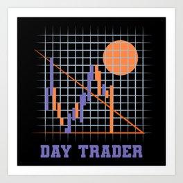 Day Traders Art Print