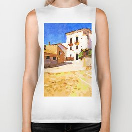 Borrello: buildings Biker Tank