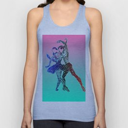 Dancing together Unisex Tank Top