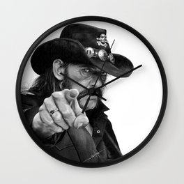 Lemmy Wall Clock