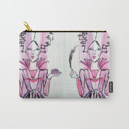 Saint Lucy Carry-All Pouch