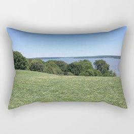 Summer at Mount Vernon Rectangular Pillow