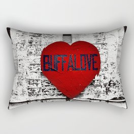 Buffalo Urban movement Rectangular Pillow