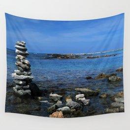 Wishing Stone Garden Wall Tapestry