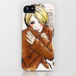 Its Cold... iPhone Case