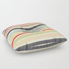 Stripes Watercolor Paint Robayre Floor Pillow