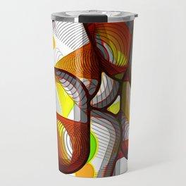 Fragmented Vision Travel Mug