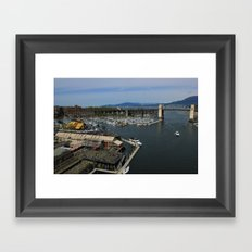 Sea Market Framed Art Print