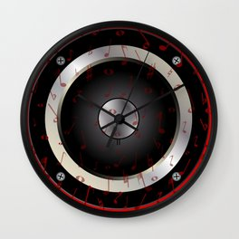 Love Music Wall Clock
