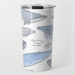 Whales Dolphins & Porpoises Travel Mug