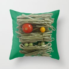 A Thing of the Pasta 2  Throw Pillow