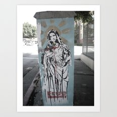 free humanity Art Print