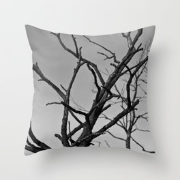 Clawed Nature Throw Pillow