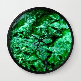 Wet Kryptonite Wall Clock
