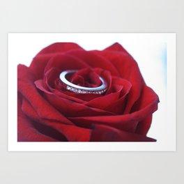 Ring Around the Rose Art Print
