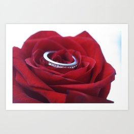 Ring Around the Rose Art Print