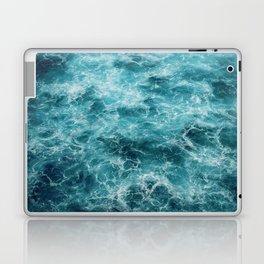 Blue Ocean Waves Laptop & iPad Skin