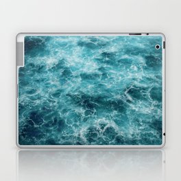 Blue Ocean Waves Laptop & iPad Skin