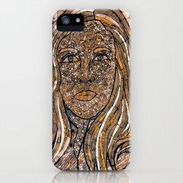 Bronzed iPhone Case