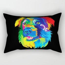 The Dog  Rectangular Pillow