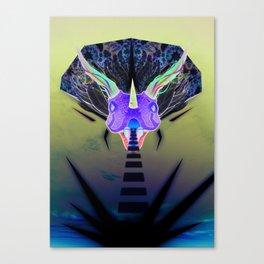 Volantesaurus Lux Canvas Print