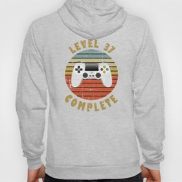 37th Birthday Gift for Him or Her Hoody