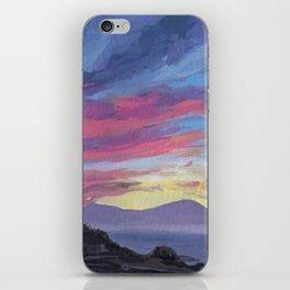Sunrise behind Vesuvius, New Year iPhone Skin