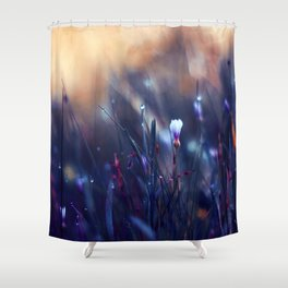 Lonely in Beauty Shower Curtain