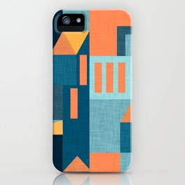 Yellow Klee houses iPhone Case
