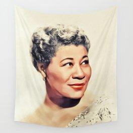 Ella Fitzgerald, Music Legend Wall Tapestry