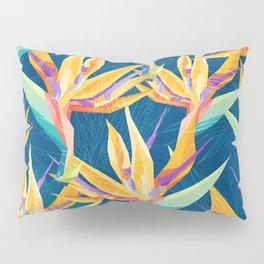 Strelitzia Pattern Pillow Sham