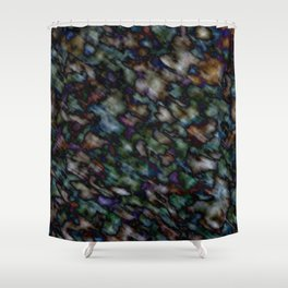 Dark Color Mania Shower Curtain
