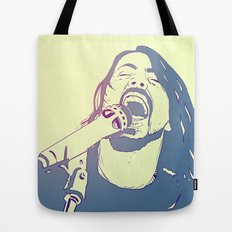 Dave Grohl Tote Bag