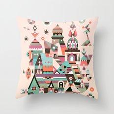 Structura 5 Throw Pillow