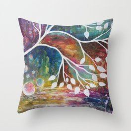 Bird to Flight Throw Pillow