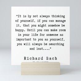 109   | Richard Bach Quotes | 190916 Mini Art Print