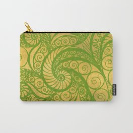 Green Shell Carry-All Pouch