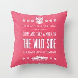 Born to Die Throw Pillow
